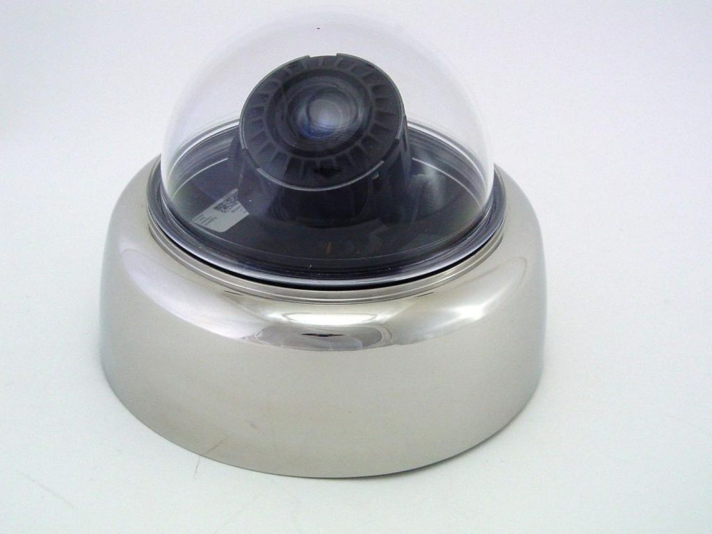 Stainless steel housing for fixdom cameras