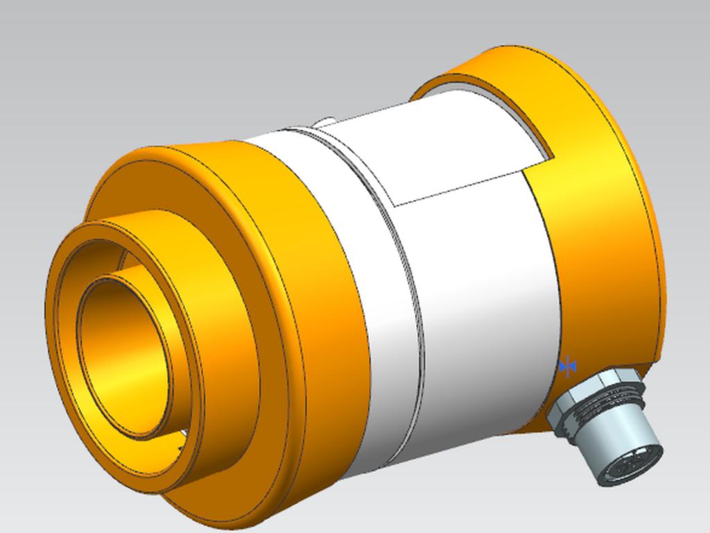 Camera for high preasure reactors
